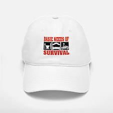 Basic Needs of Survival Baseball Baseball Cap