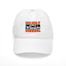 Basic Needs of Survival Baseball Cap