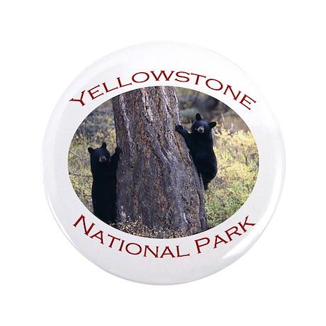 "Yellowstone National Park...Black Bear Cubs 3.5"" B"