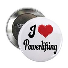 """I Love Powerlifting 2.25"""" Button"""