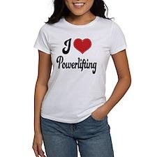I Love Powerlifting Tee