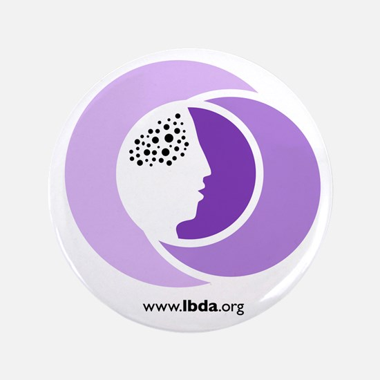 "Unique Lbda lbd lewy dementia pdd 3.5"" Button"