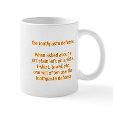 toothpaste defence Mug