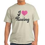 I Love Racing Light T-Shirt