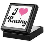 I Love Racing Keepsake Box