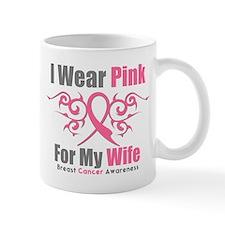 Breast Cancer Ribbon Wife Mug