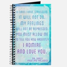 Darcy Quote Journal