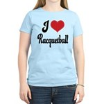 I Love Racquetball Women's Light T-Shirt