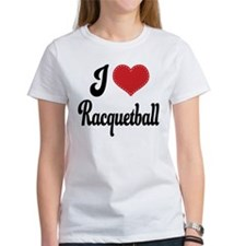I Love Racquetball Tee