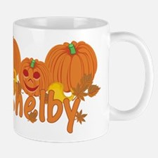 Halloween Pumpkin Shelby Mug