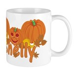 Halloween Pumpkin Shelly Mug