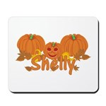 Halloween Pumpkin Shelly Mousepad