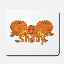 Halloween Pumpkin Shelly Mousepad