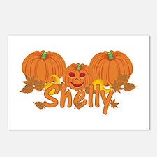 Halloween Pumpkin Shelly Postcards (Package of 8)