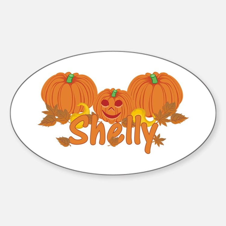 Halloween Pumpkin Shelly Decal