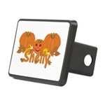 Halloween Pumpkin Shelly Rectangular Hitch Cover