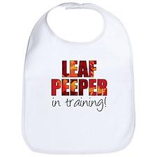 Leaf Peeper In Training Bib