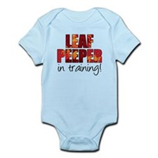 Leaf Peeper In Training Infant Bodysuit