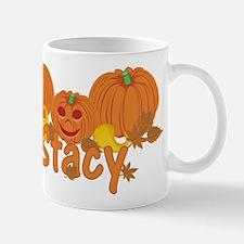 Halloween Pumpkin Stacy Mug
