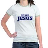 Team jesus Jr. Ringer T-Shirt