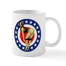 All American Pin up Zombie Mug
