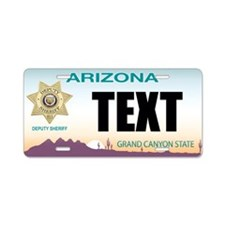 Arizona Deputy Sheriff Custom License Plate