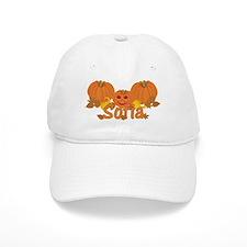 Halloween Pumpkin Sofia Baseball Cap