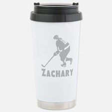 Personalized Hockey Stainless Steel Travel Mug