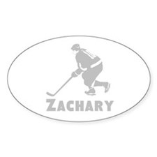Personalized Hockey Decal
