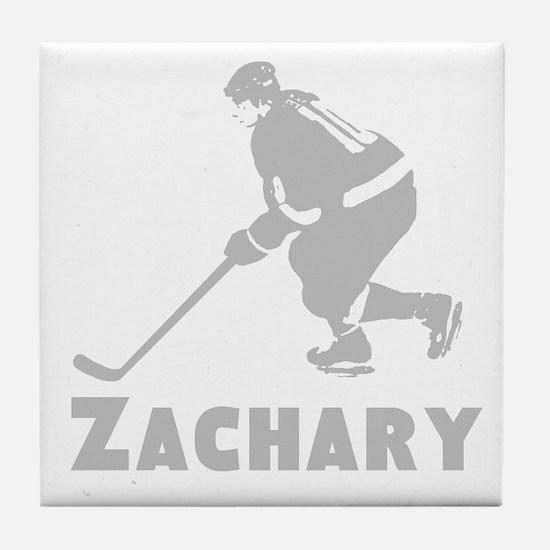 Personalized Hockey Tile Coaster