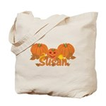 Halloween Pumpkin Susan Tote Bag