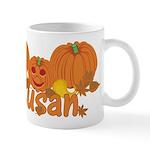 Halloween Pumpkin Susan Mug