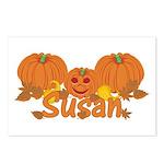 Halloween Pumpkin Susan Postcards (Package of 8)