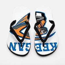 Personalized Hockey Flip Flops
