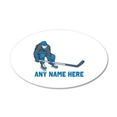 Personalized Hockey Wall Decal