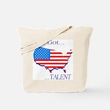 I've Got Talent Tote Bag
