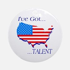 I've Got Talent Ornament (Round)