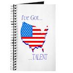 I've Got Talent Journal