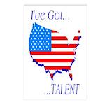I've Got Talent Postcards (Package of 8)
