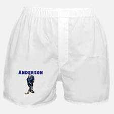 Personalized Hockey Boxer Shorts