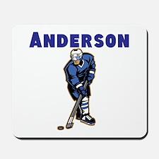 Personalized Hockey Mousepad