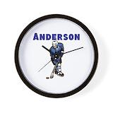 Hockey Wall Clocks