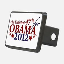 Entitled 47% For Obama 2012 Hitch Cover