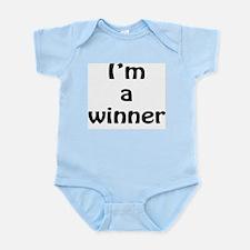 I'm a winner Infant Bodysuit