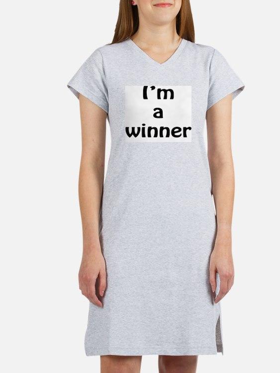 I'm a winner Women's Nightshirt