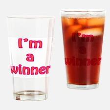 I'm a winner Drinking Glass