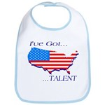 I've Got Talent Bib