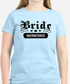 Bride (add wedding date) T-Shirt