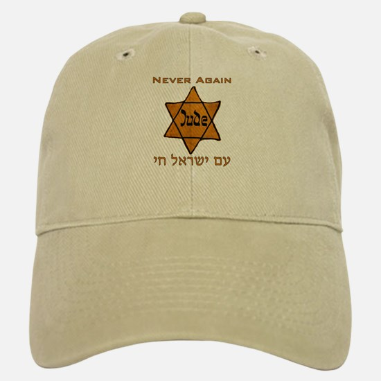 Yellow Star Baseball Baseball Cap