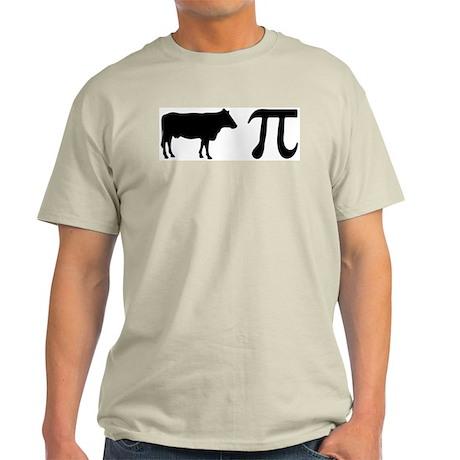 Cow Pi (pie) Ash Grey T-Shirt
